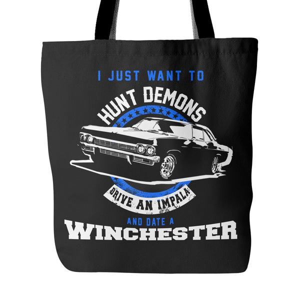 Hunt Demons - Totebag - Tote Bags - Supernatural-Sickness - 1