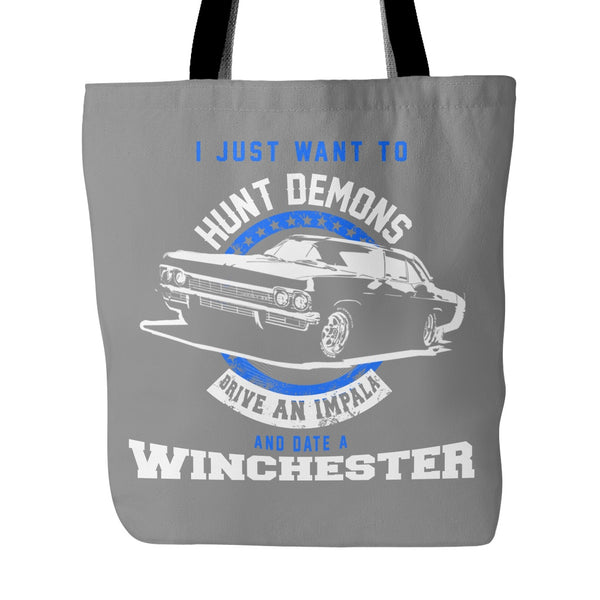 Hunt Demons - Totebag - Tote Bags - Supernatural-Sickness - 2