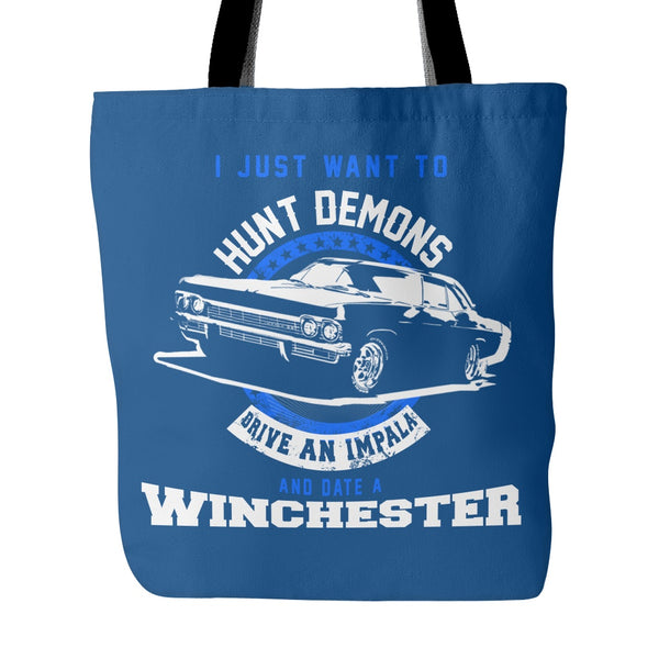 Hunt Demons - Totebag - Tote Bags - Supernatural-Sickness - 3