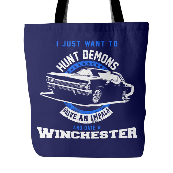 Hunt Demons - Totebag - Tote Bags - Supernatural-Sickness - 4