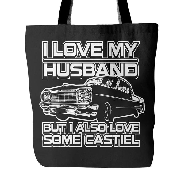 I Also Love Some Castiel - Totebag - Tote Bags - Supernatural-Sickness - 4