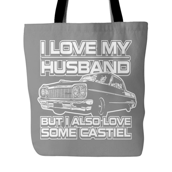 I Also Love Some Castiel - Totebag - Tote Bags - Supernatural-Sickness - 2