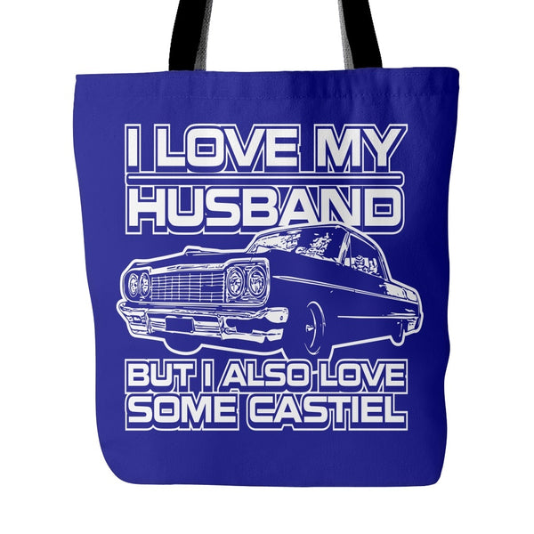 I Also Love Some Castiel - Totebag - Tote Bags - Supernatural-Sickness - 3
