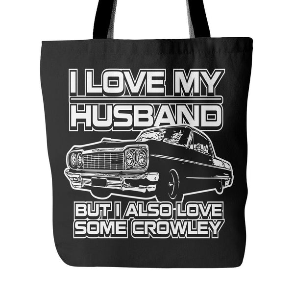 I Also Love Some Crowley - Totebag - Tote Bags - Supernatural-Sickness - 1