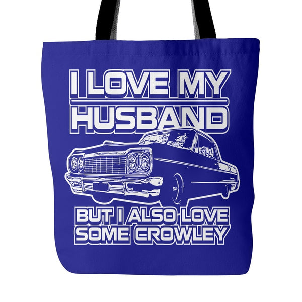 I Also Love Some Crowley - Totebag - Tote Bags - Supernatural-Sickness - 3