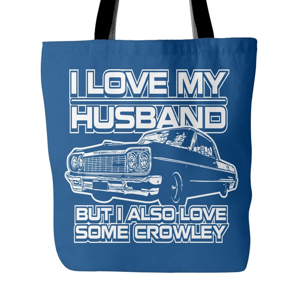 I Also Love Some Crowley - Totebag - Tote Bags - Supernatural-Sickness - 4