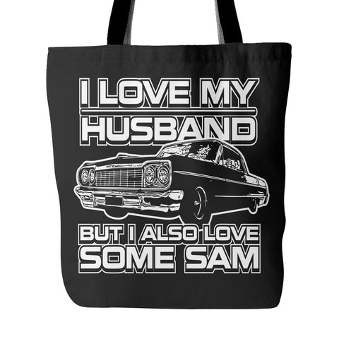 I Also Love Some Sam - Totebag - Tote Bags - Supernatural-Sickness - 1