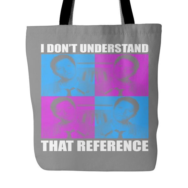 I Dont Understand That Reference - Totebag - Tote Bags - Supernatural-Sickness - 2