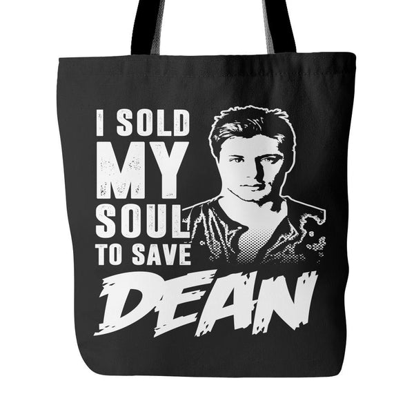 I sold my soul to save Dean - Tote Bag - Tote Bags - Supernatural-Sickness - 1
