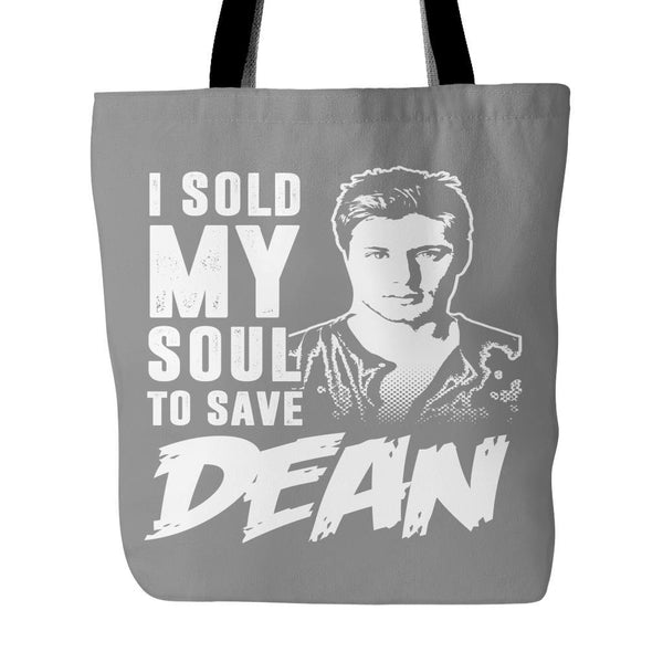 I sold my soul to save Dean - Tote Bag - Tote Bags - Supernatural-Sickness - 2