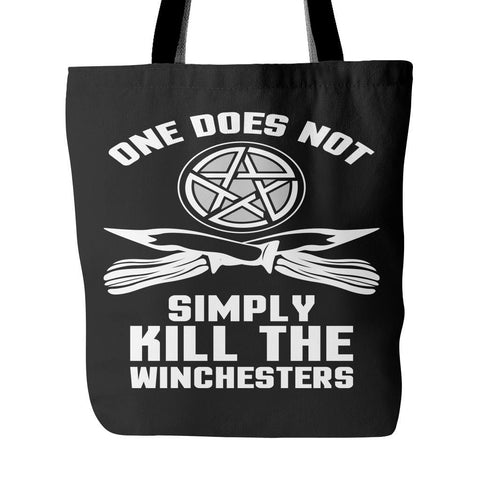 One Does Not Simply Kill The Winchesters - Totebag - Tote Bags - Supernatural-Sickness - 1