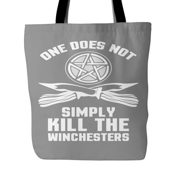 One Does Not Simply Kill The Winchesters - Totebag - Tote Bags - Supernatural-Sickness - 2