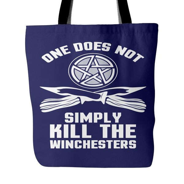 One Does Not Simply Kill The Winchesters - Totebag - Tote Bags - Supernatural-Sickness - 3