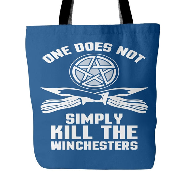 One Does Not Simply Kill The Winchesters - Totebag - Tote Bags - Supernatural-Sickness - 4