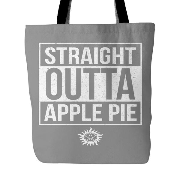 Straight Outta Apple Pie - Tote Bag - Tote Bags - Supernatural-Sickness - 2