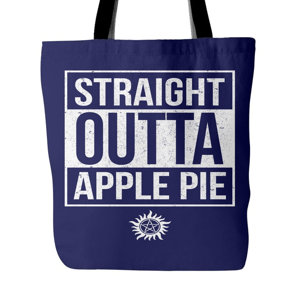 Straight Outta Apple Pie - Tote Bag - Tote Bags - Supernatural-Sickness - 3