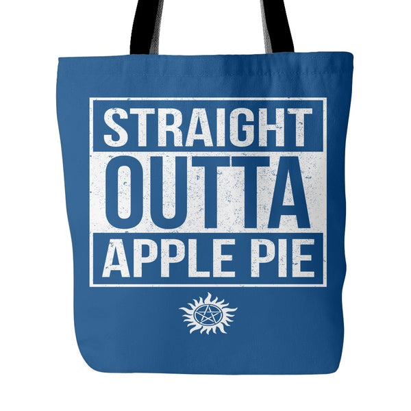 Straight Outta Apple Pie - Tote Bag - Tote Bags - Supernatural-Sickness - 4