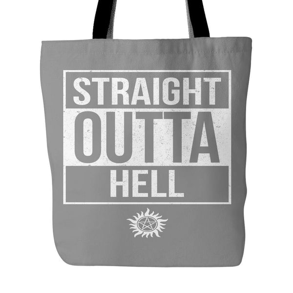 Straight Outta Hell - Tote Bag - Tote Bags - Supernatural-Sickness - 2
