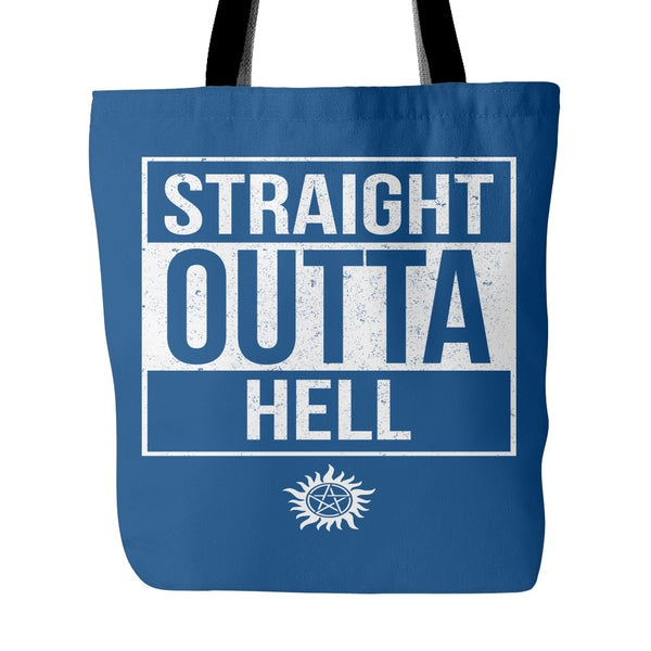 Straight Outta Hell - Tote Bag - Tote Bags - Supernatural-Sickness - 4