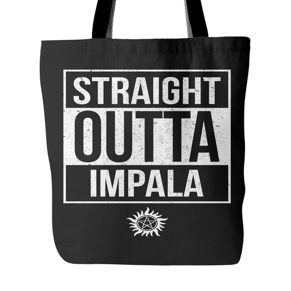 Straight Outta Impala - Tote Bag - Tote Bags - Supernatural-Sickness - 1