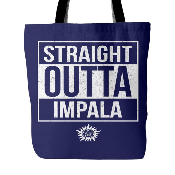 Straight Outta Impala - Tote Bag - Tote Bags - Supernatural-Sickness - 3