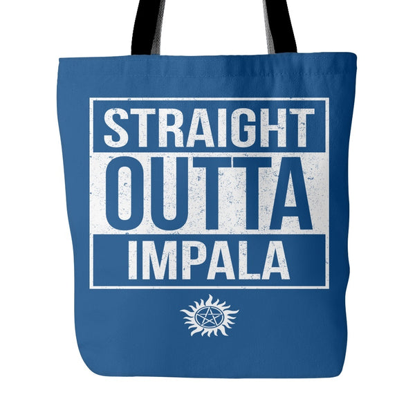 Straight Outta Impala - Tote Bag - Tote Bags - Supernatural-Sickness - 4