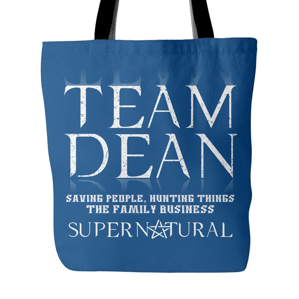 Team Dean - Totebag - Tote Bags - Supernatural-Sickness - 3