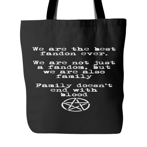 We are the best fandom ever - Totebag - Tote Bags - Supernatural-Sickness - 1