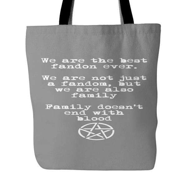 We are the best fandom ever - Totebag - Tote Bags - Supernatural-Sickness - 2