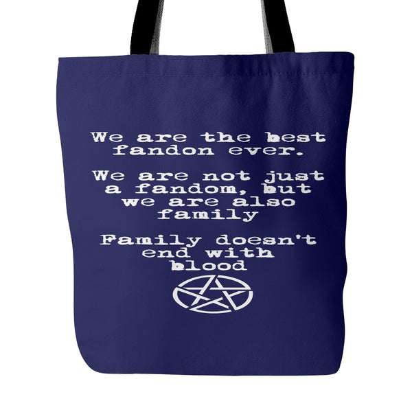 We are the best fandom ever - Totebag - Tote Bags - Supernatural-Sickness - 3