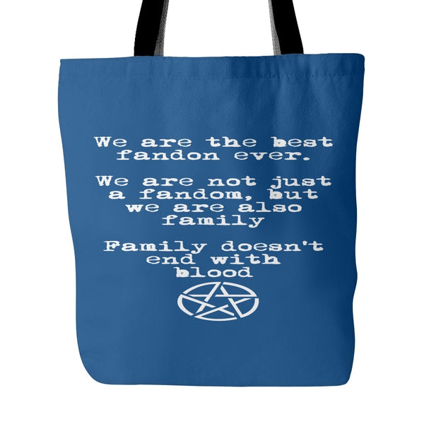 We are the best fandom ever - Totebag - Tote Bags - Supernatural-Sickness - 4