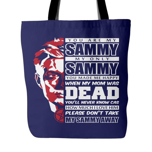 You Are My Sammy - Totebag - Tote Bags - Supernatural-Sickness - 3