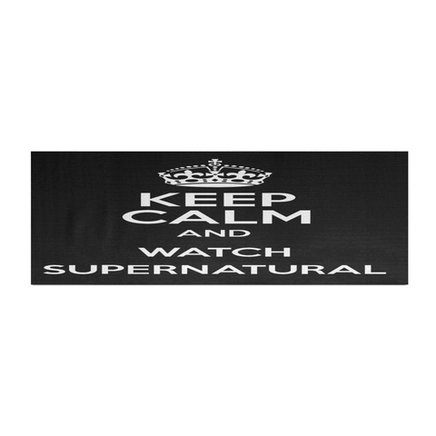 Keep Calm and watch Supernatural - Yogamat - Yoga Mat - Supernatural-Sickness