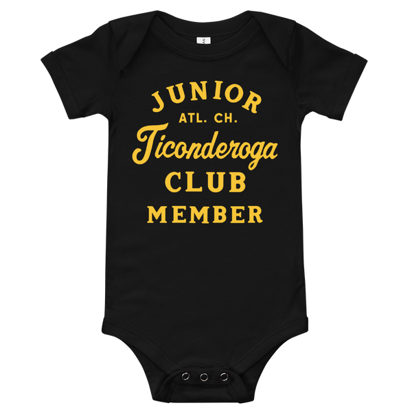 Junior Club Member Onesie - Black