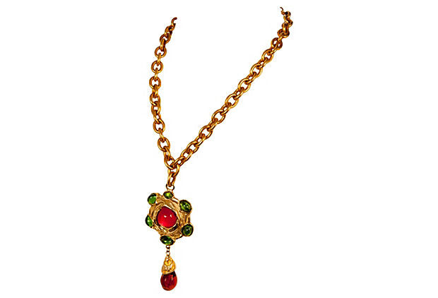 Christian Lacroix  Pendant Necklace