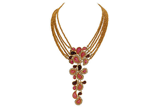 Christian Dior Runway Collar Necklace