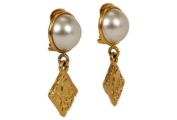 Ferragamo Gold-Plated Earrings