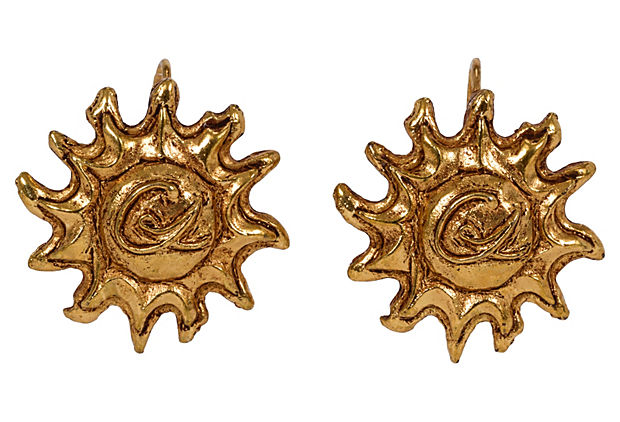 Christian Lacroix Gold-Plated Earrings