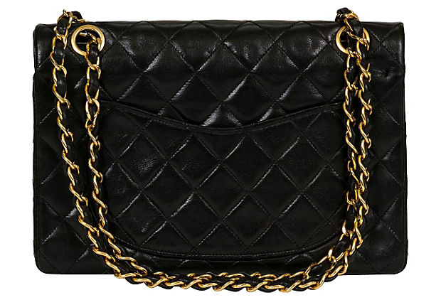 Chanel Black Classic Double Flap Bag