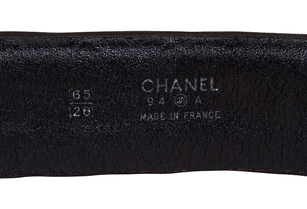 Chanel Quilted Belt w/ Chain Drop