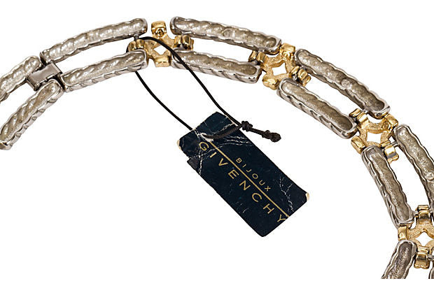 Givenchy Two-Tone Chain Link Necklace - Givenchy - Vintage Lux