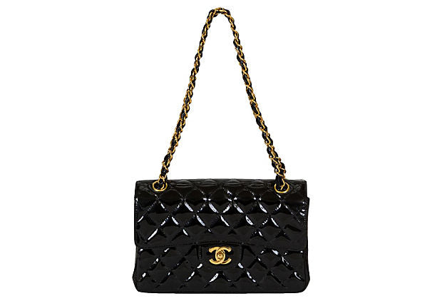 Chanel Double-Sided Patent Flap Bag