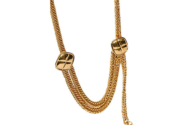 Chanel Double Quilted Belt/Necklace