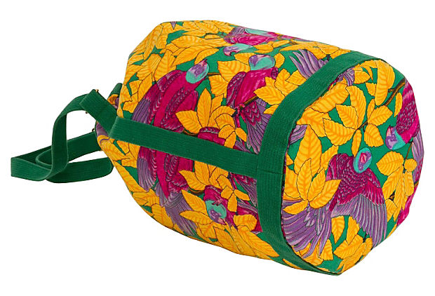 Hermès Yellow Parrots Bucket Bag