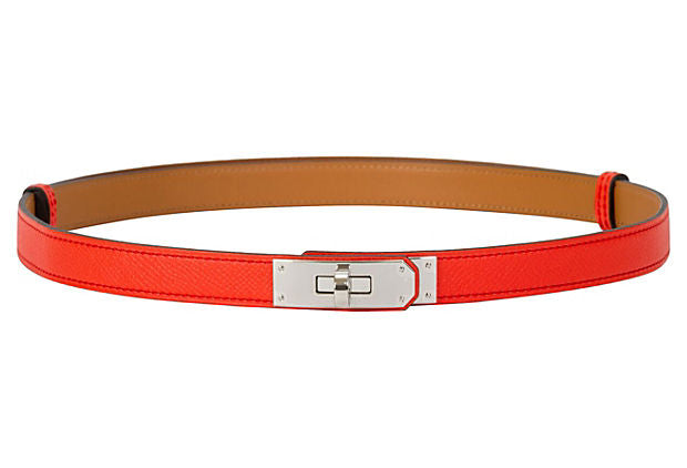 Hermès Rare Rose Jaipur Kelly Belt