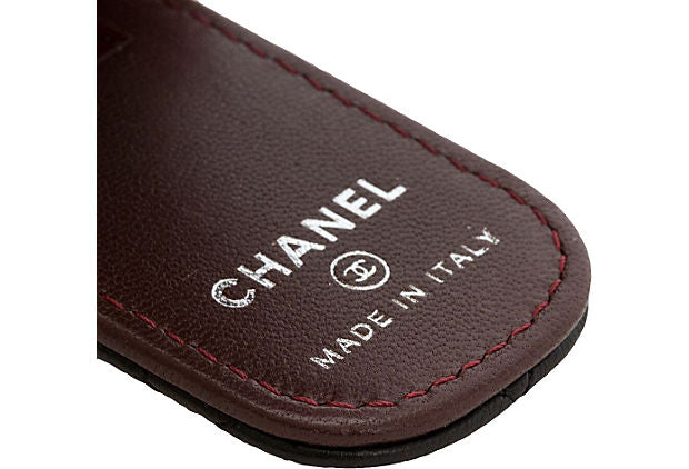 Chanel Black Quilted Unisex Money Clip