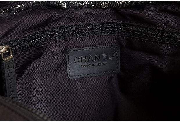 Chanel Black Sports Backpack