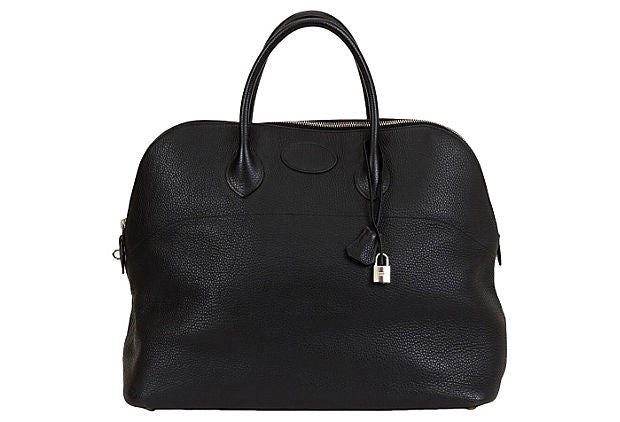Extra-Large Hermès Travel Black Bolide
