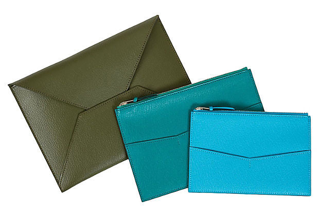 Hermes Lim. Ed. Set Of 3 Pouches