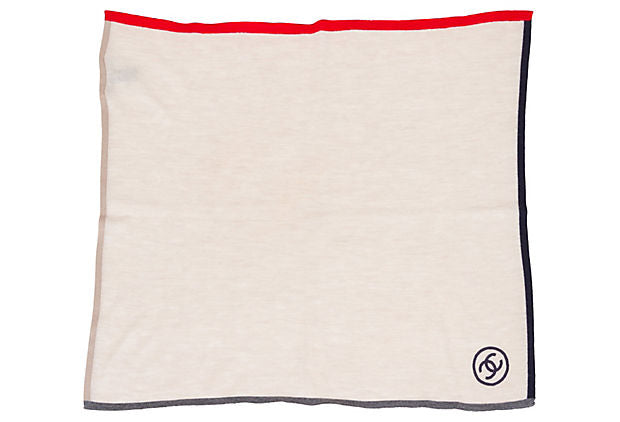 Chanel Cashmere Pocket Scarf - Chanel - Vintage Lux